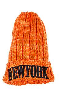 Шапка женская зимняя спортивная AG-0008332 цвет Оранжевый