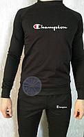 Теплый мужской спортивный костюм (флис) Champion