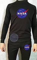 Теплый мужской спортивный костюм (флис) Nasa