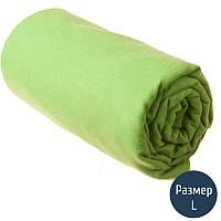 Полотенце Sea to Summit DryLite Towel Antibacterial р.L (60x120см), лайм