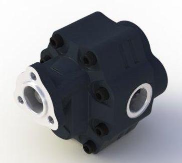 Насос шестеренный одностороннего вращения Hiposan 63 л DP-40-63