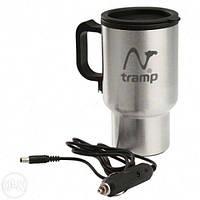 Автокружка Tramp с подогревом от USB/ автомобильного прикуривателя 12В TRC-064