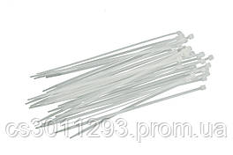 Хомут пластиковый Intertool - 3,6 х 300 мм, белый (100 шт.)
