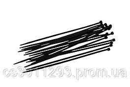 Хомут пластиковый Intertool - 3,6 х 300 мм, черный (100 шт.)
