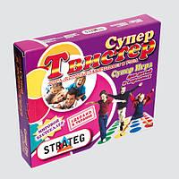 Настольная игра STRATEG Супер Твистер 379 2-07157, КОД: 1248956