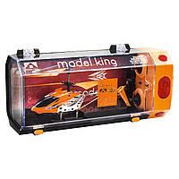 """Вертолет на радиоуправлении """"Model King"""" (оранжевый)"""