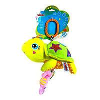 Погремушка-подвеская мягкая Черепашка