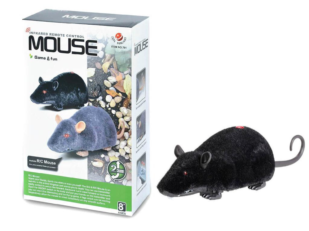 Мышка на радиоуправлении (черная)