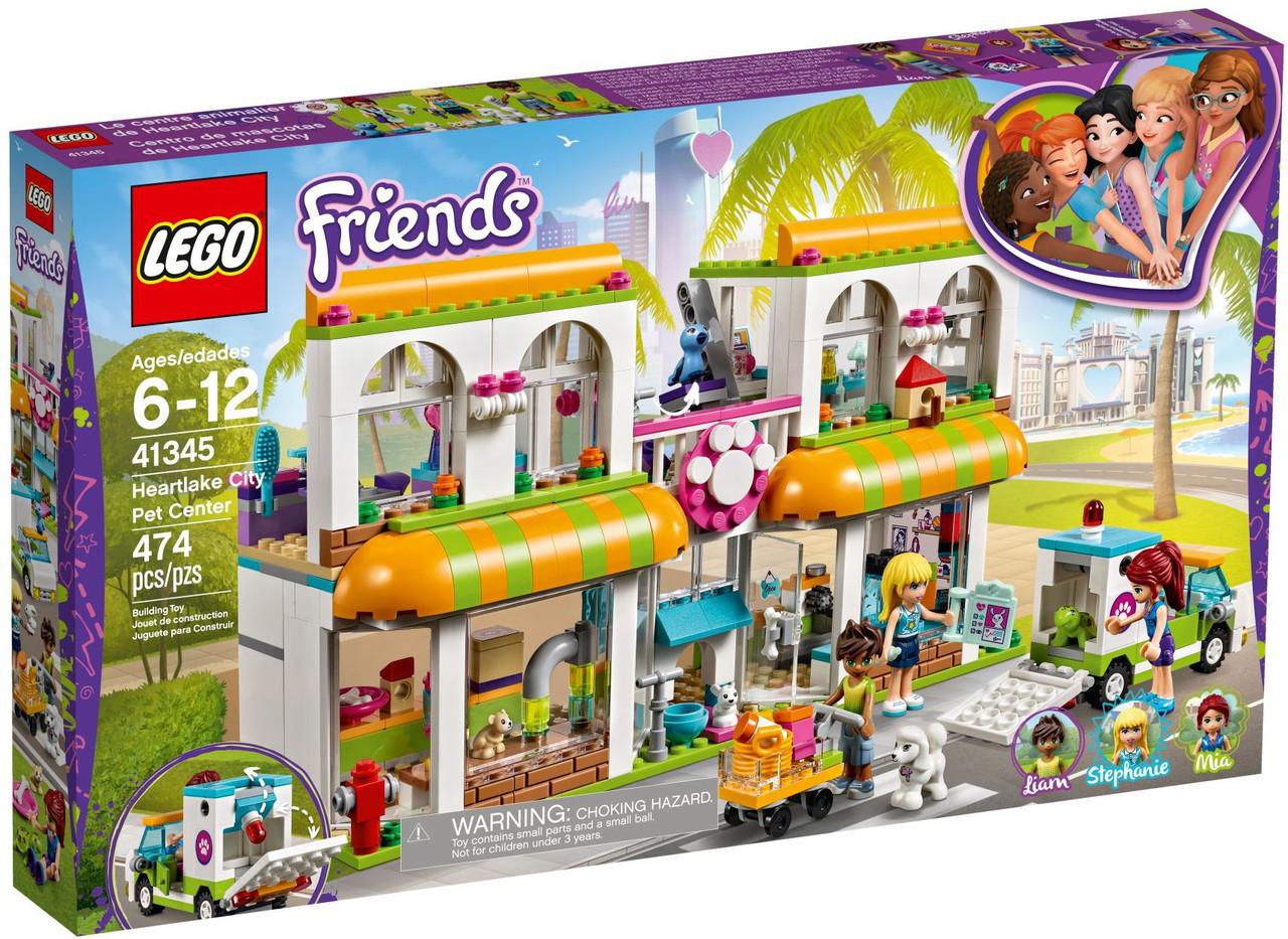 Lego Friends Центр по уходу за домашними животными 41345