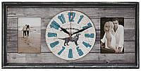 Настенные часы-фоторамка в деревянной раме DK Store F-2 концепт 260х530мм, КОД: 1224096