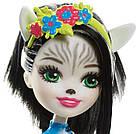 Кукла Энчантималс Зелена Зебра и друг Хуфитт Enchantimals Zelena Zebra & Hoofette, фото 4