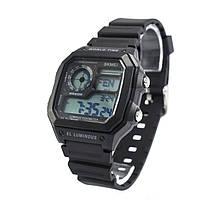 Часы спортивные Skmei 1373 Black 1373BKB, КОД: 1140434