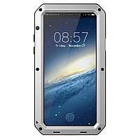 Чехол iG Lunatik Taktik Extreme для iPhone X Silver IGLTEXS2, КОД: 333289