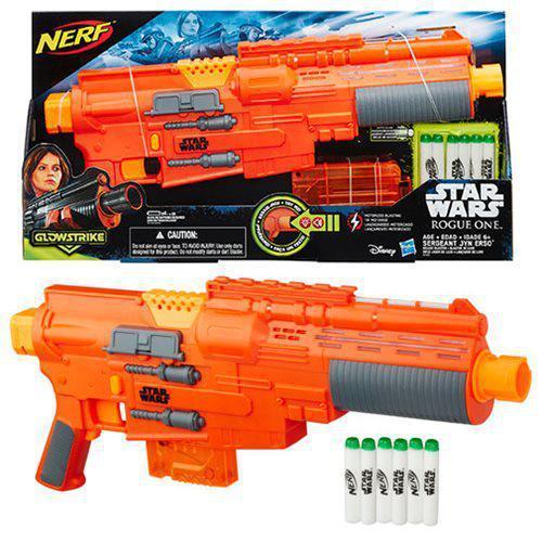 Бластер Нерф Звездные войны Сержант Джин Эрсо Nerf Star Wars Rogue One Sergeant Jyn Erso (B7763)