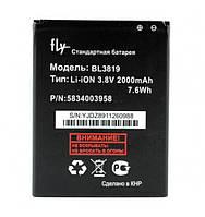 Батарея Fly BL3819 Fly IQ4514 Evo Tech 4 2000 мАч, КОД: 1229866