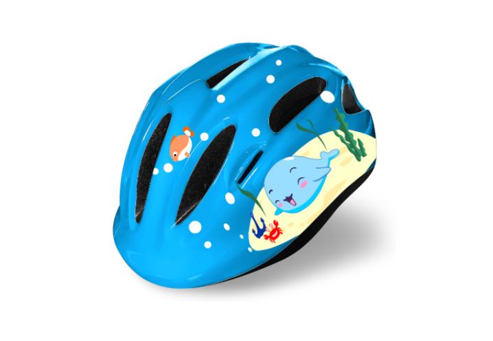 Шлем велосипедный FSK KS502 детский 50-56см (голубой)