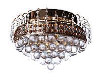 Люстра хрустальная на 7 ламп Sunlight ST360 Золотистый 08297, КОД: 1286666