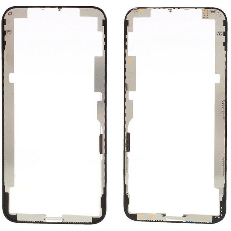 Mounting frame iPhone XS Black