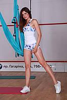 Шорты Тоталфит H-11 XXS Голубой с розовым, фото 1