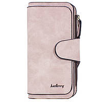 Женский кошелек Baellerry N2345 Light Pink замшевый 2418-10245, КОД: 1266826