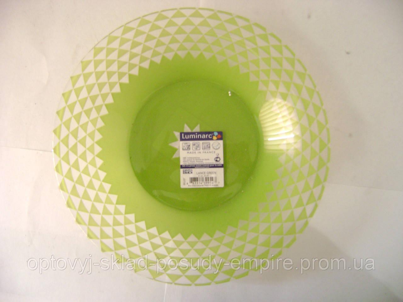 Тарілка Luminarc Green супова 21 см