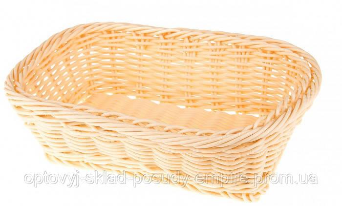 Корзина для хлеба плетёная Квадрат 9789