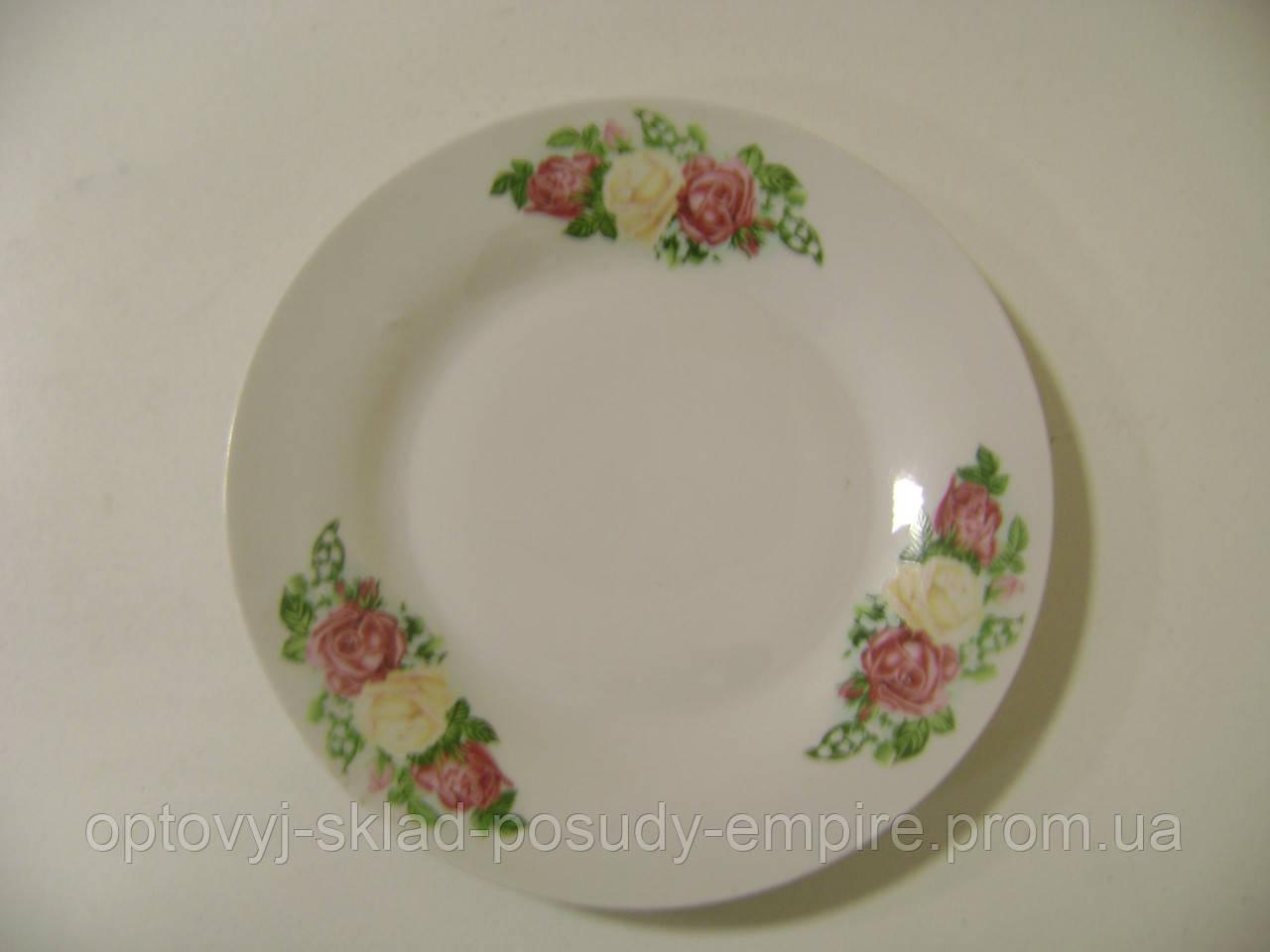 Тарелка керамическая 7 Букет 30000-308