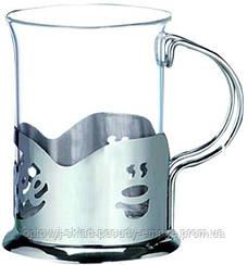 Подстаканник с стеклянным стаканом Empire ЕМ 9569