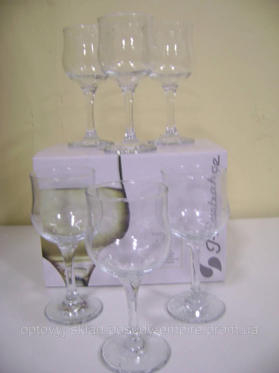 44167 Тулип набор фужеров для вина  200 гр 6 шт