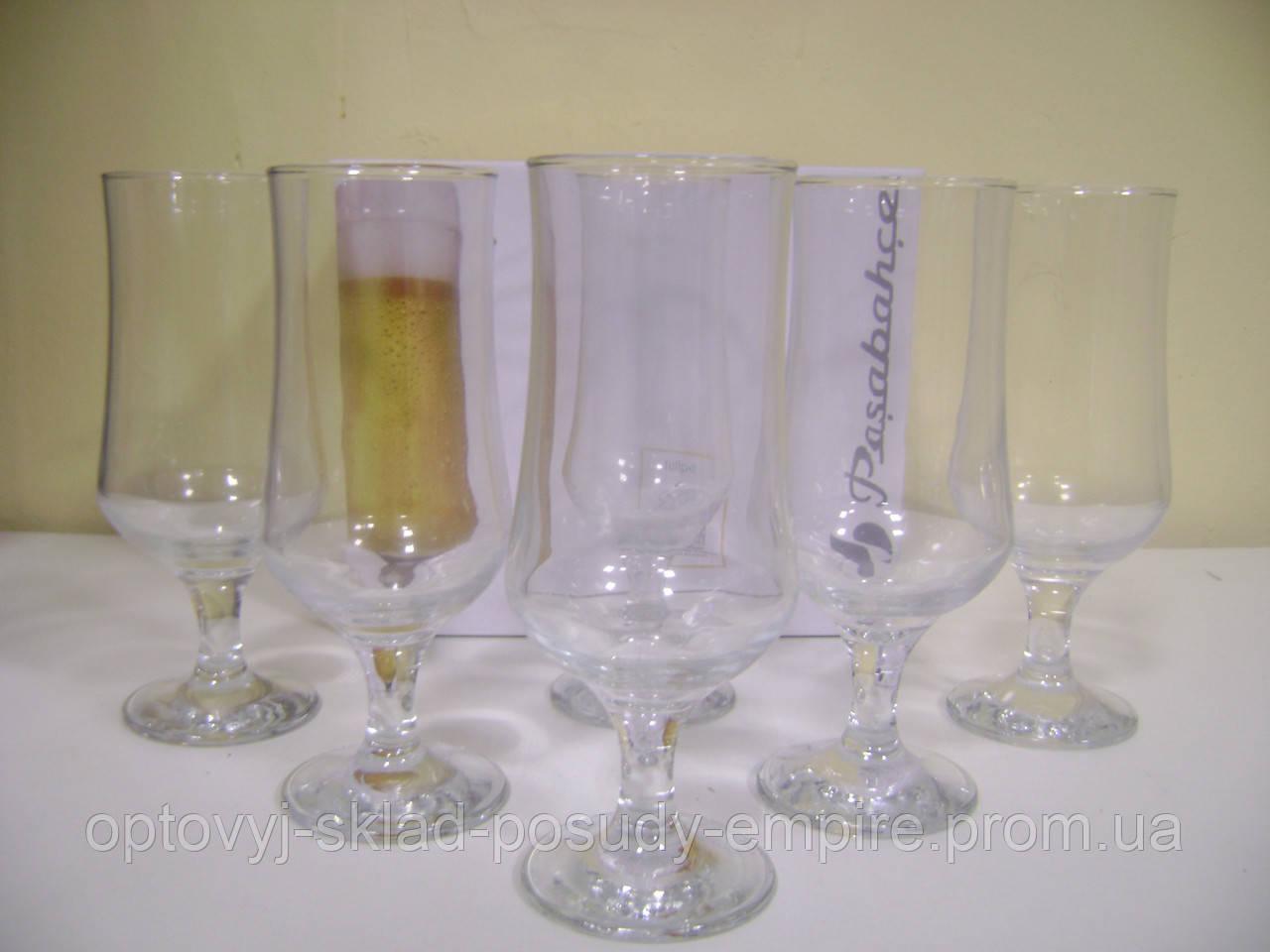 Тулип бокал для пива 370гр. 1/6 шт. Pasabahce 44169