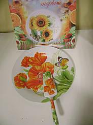 Набор для торта S&T Цветы ST 3085-03 2 прибора