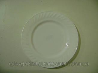 Тарелка мелкая №8 d=200мм White НР-80 1073
