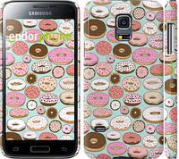 "Чехол на Samsung Galaxy S5 mini G800H Пончики в глазури ""2876c-44"""