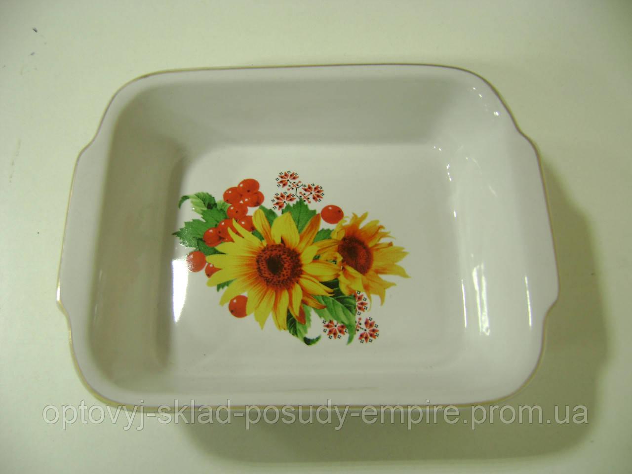 Судок керамический 500 декор