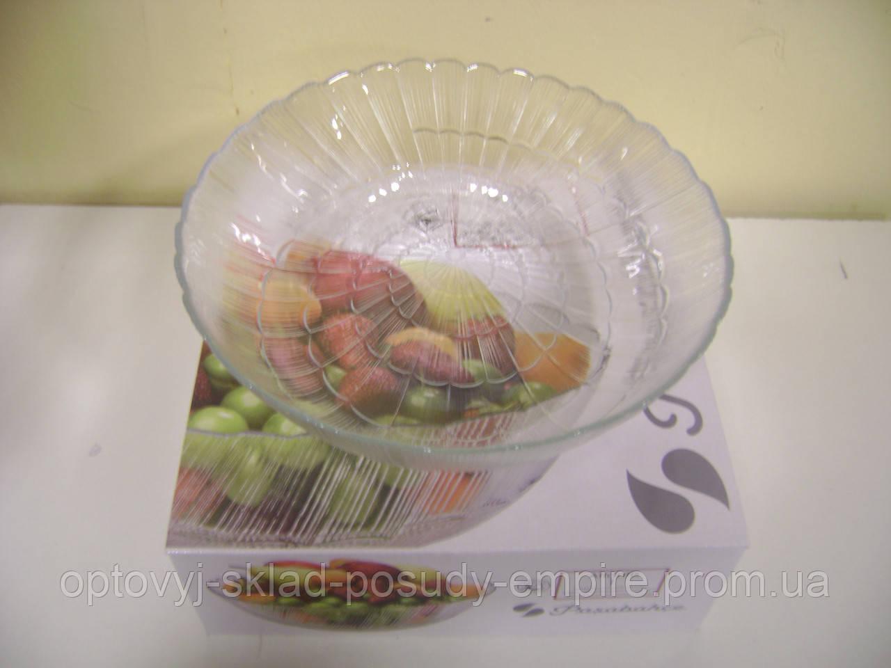 10251 Атлантіс салатник скляний 27см