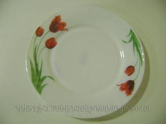 Тарелка*8 мелкая тюльпан ХР-80 7592