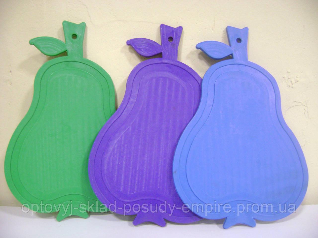 Разделочная доска пластиковая Груша
