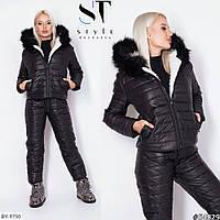 Женский лыжный костюм большого размера
