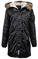 Парка Alpha Industries Elyse M Black Alpha-20345-M, КОД: 717896