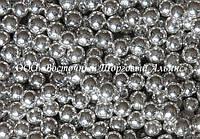 Декоративные жемчужины —  серебро Ø5 - 200 г, фото 1