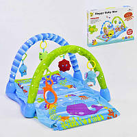 Коврик игровой Happy Baby Mat D 075 5 подвесок Разноцветный 2-D075-72377, КОД: 1077023
