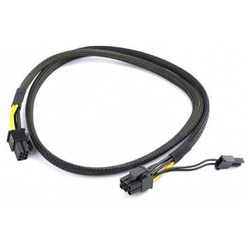 Кабель питания PCI express 6 пин на 6+2 пин Cablexpert (CC-PSU-86)