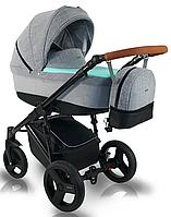 Дитяча коляска BEXA Ultra U105 Сіро-мятна 3072018043, КОД: 125608
