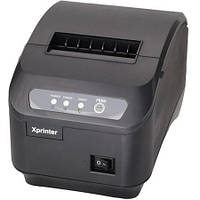 Термопринтер  для чеков Xprinter XP-Q200II 80 мм с автообрезкой LAN Ethernet 10014, КОД: 225971