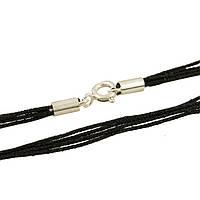 Серебряный шнурок SilverBreeze без камней 45 см 1655207, КОД: 1193564