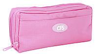 """Пенал-сумочка мягкий """"Classic Pink"""" Cool For School 85318 3 отделения на молнии"""