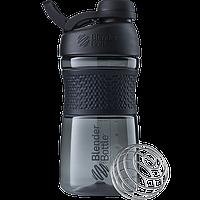 Спортивная бутылка-шейкер BlenderBottle SportMixer Twist 590 ml Black, КОД: 977690