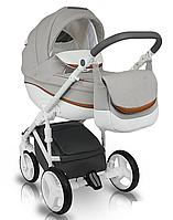 Дитяча коляска BEXA Ideal  New IN 2 Сіра з білим 3072018007, КОД: 125643