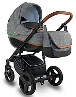 Дитяча коляска BEXA Ideal  New IN 9 Сіра з коричновим 3072018011, КОД: 125700
