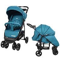 Коляска прогулочная TILLY Avanti T-1406 Синяя 21-T-1406-02, КОД: 316953